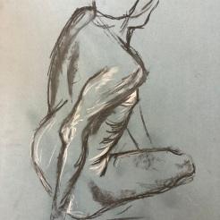 Life Drawing, 23rd October 2019