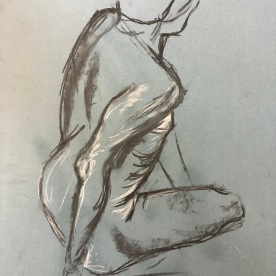 Life Drawing, 23rd October 2019