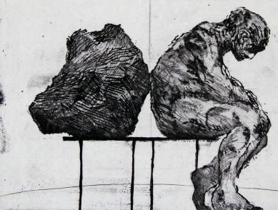 William Kentridge, 1979, charcoal