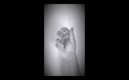 Figure 1: Nina Williams, Hand Movement, 2020, (Silent Era, Silent) Video (unfinished)