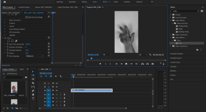 Video Editing on Adobe Premiere Pro