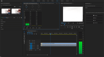 Importing and editing